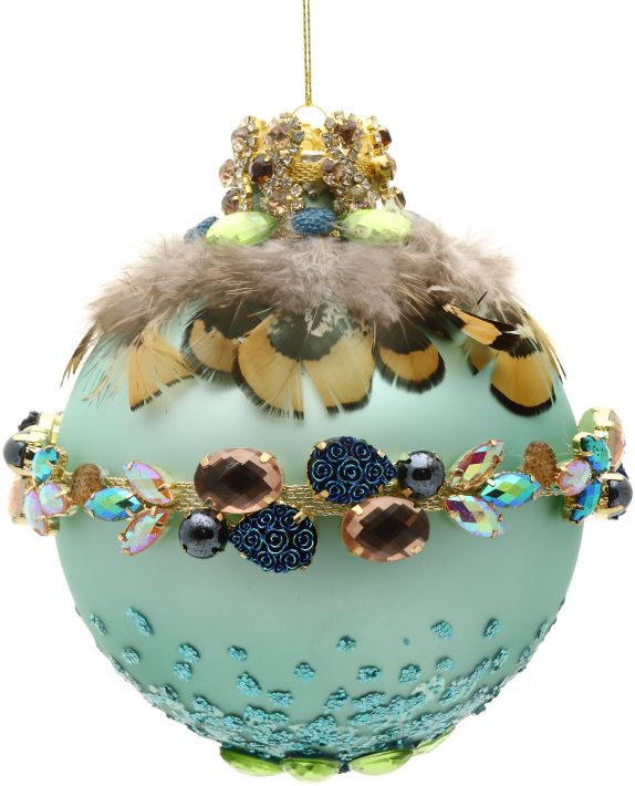 Luxe Lodge Jeweled Ornament 36-60268