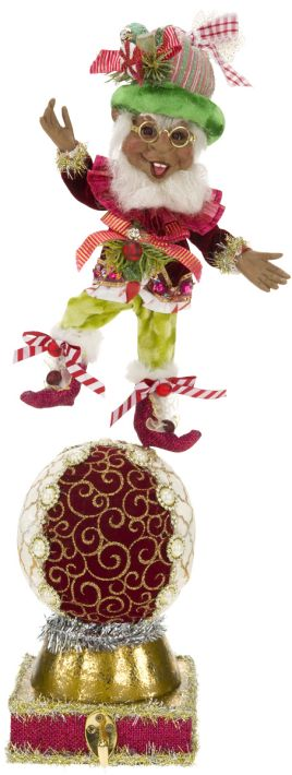 African-American Candymaker Elf Stocking Holder 51-68301