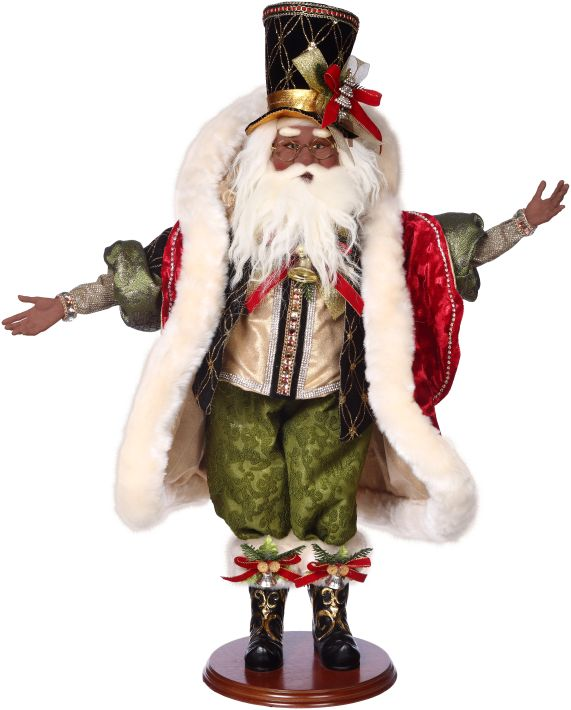 African-American Santa on the Town 51-68355